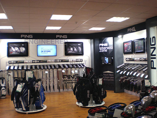 Adglow Golf Shop In Shop Adglow